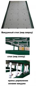 Вакуумный рабочий стол