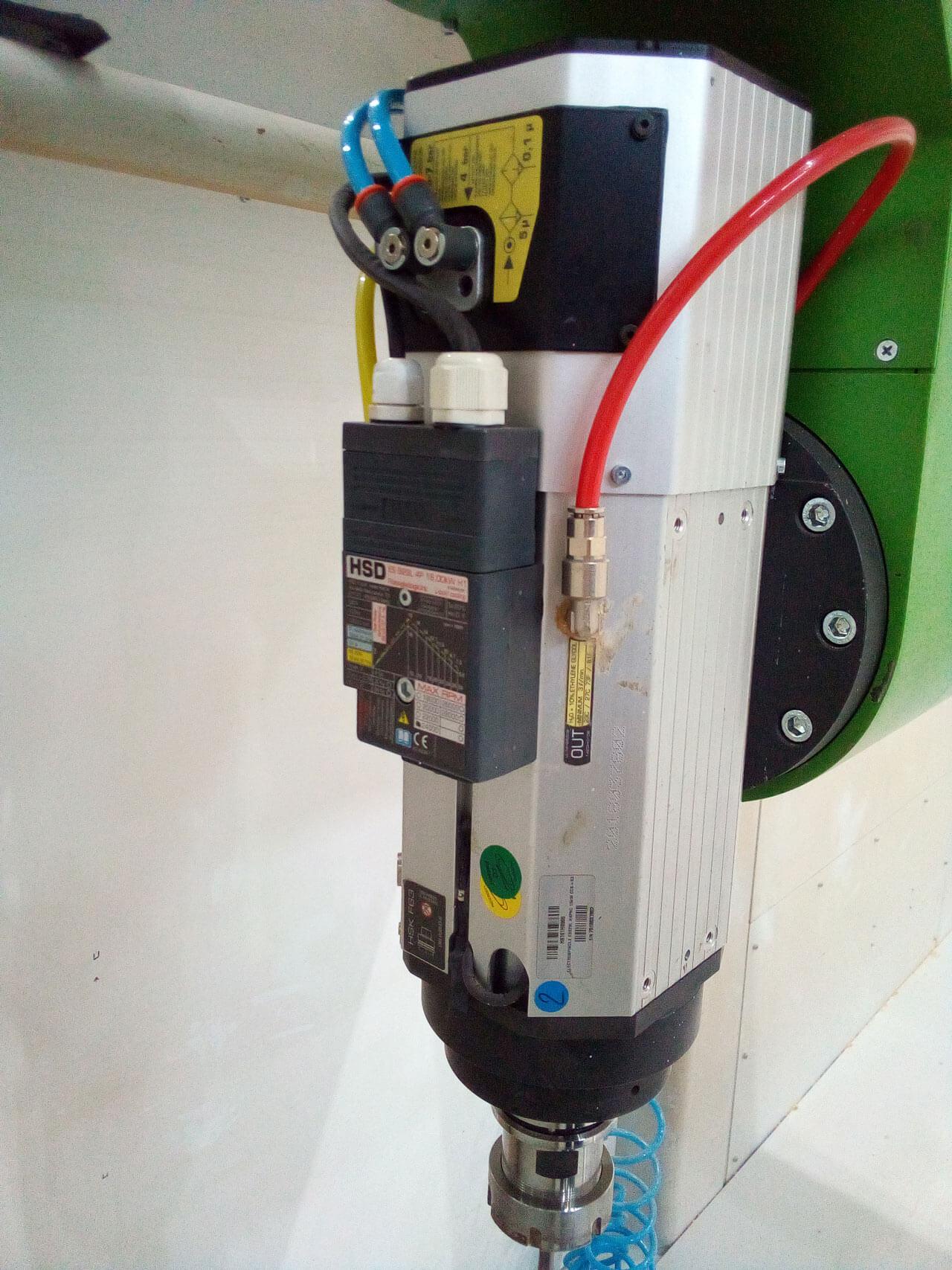 Шпиндели HSDИспользуем высокоскоростные моторы/шпиндели HSD с автоматической сменой инструмента